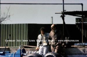 Jody Scheckter Tyrrell 007 photo. Goodwood test 1974